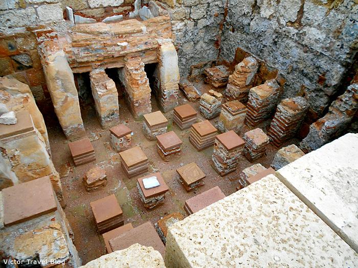 Thermae of Caesarea, Israel.