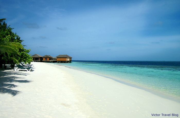 Vilamendhoo Island. The Maldives
