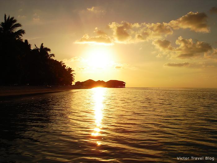 Vilamendhoo Island Resort and Spa. The Maldives.