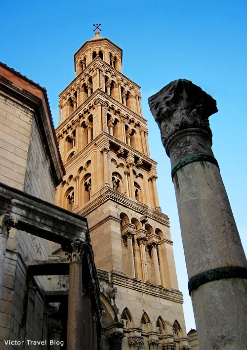 Diocletian Palace. Split, Croatia.