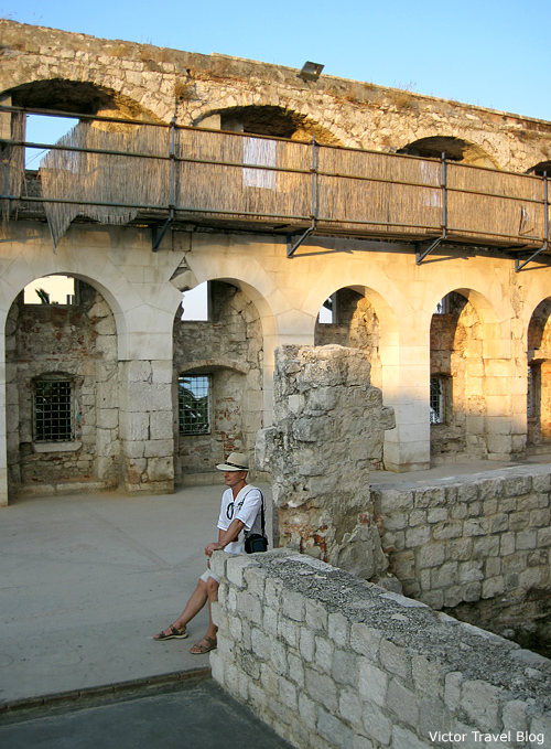 The Diocletian Palace, Split, Croatia.