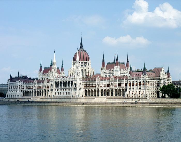 Parliament. Budapest, Hungary.