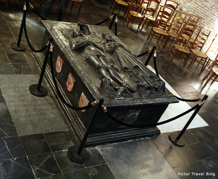 Inside of the Jerusalem Church of Bruges