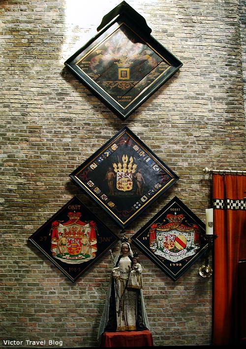 The Jerusalem Church of Bruges, Belgium.