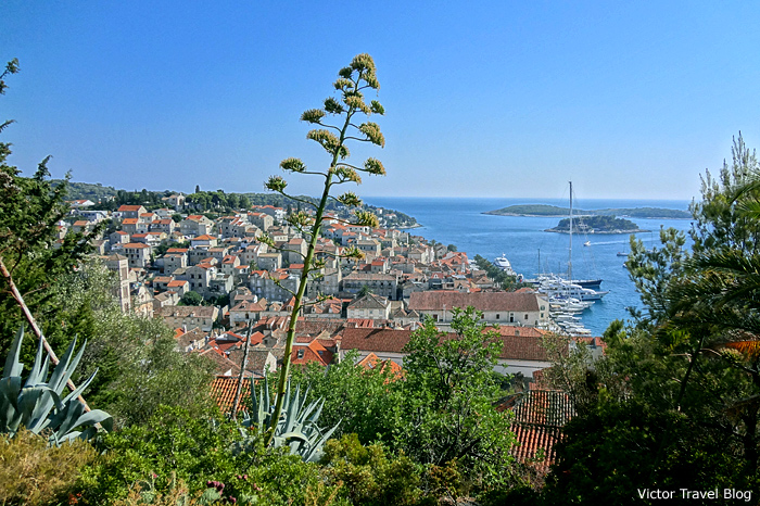 Adriatic sea, Hvar, Croatia