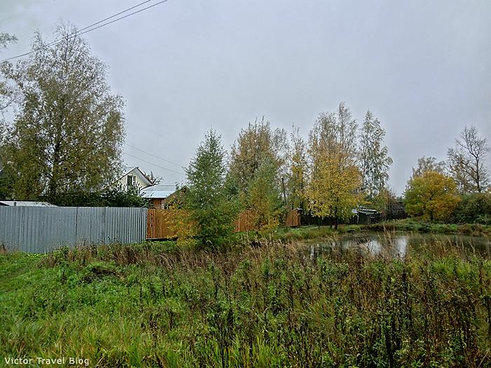 The village of Muromtsevo. Russia.