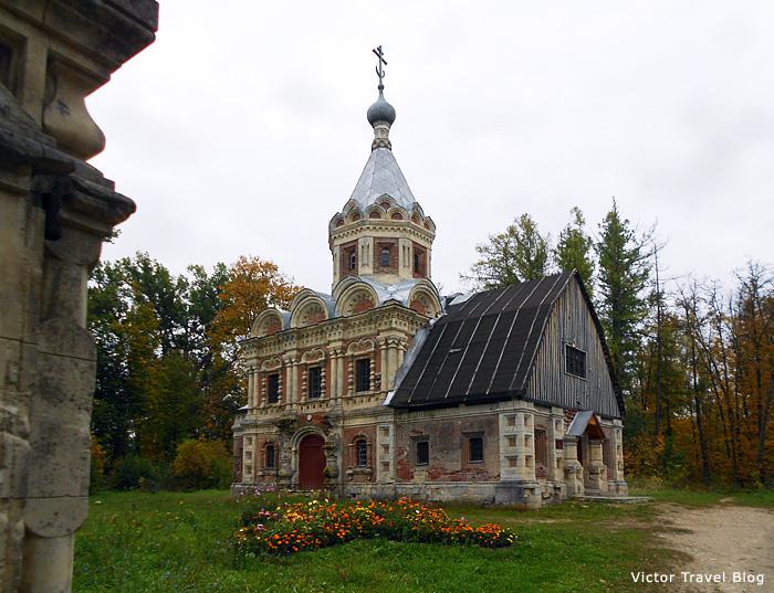 The Russian Orthodox church in Muromtsevo.