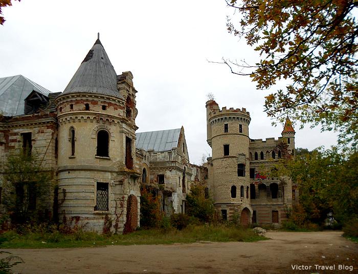 Castle Muromtsevo in Russia