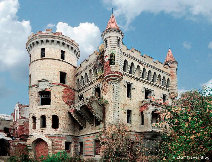 Russian Castle Muromtsevo.
