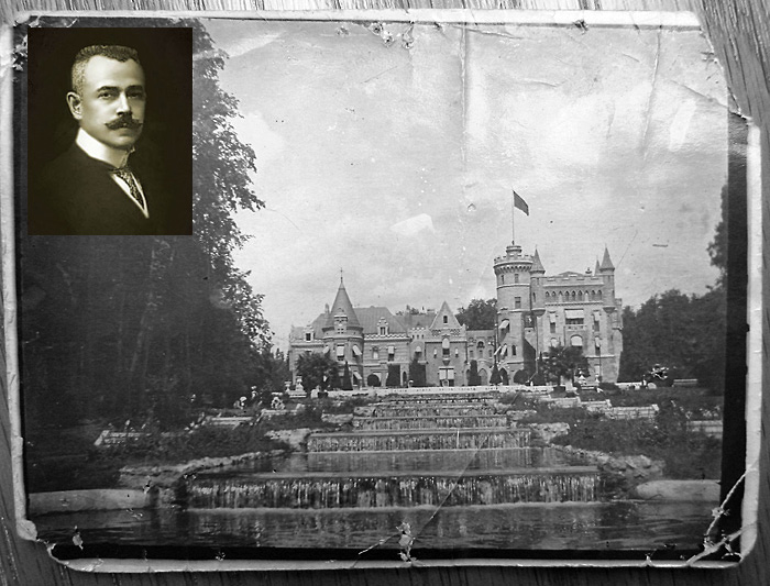 Vladimir Khrapovitsky and his castle Muromtsevo. Russia.