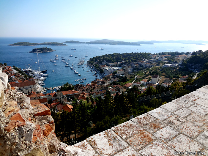 Spanjola Fortress in Hvar, Croatia