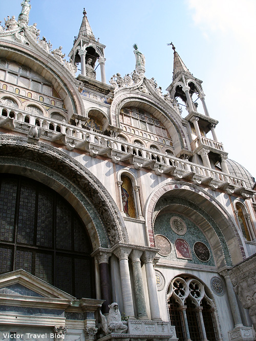 Cathedral Basilica of Saint Mark. Venice