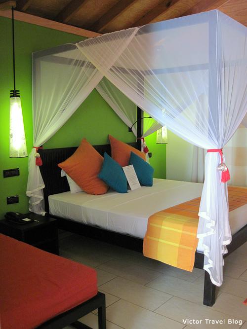 Deluxe Villa. Vilamendhoo Island Resort. The Maldives.