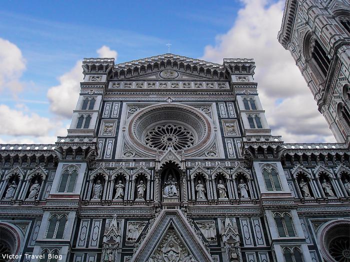 The Cattedrale di Santa Maria del Fiore. Florence, Italy.