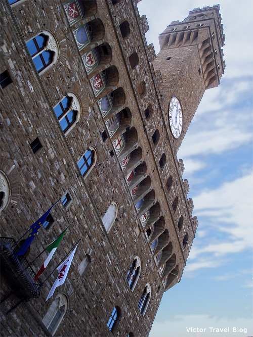 Palazzo Vecchio or Old Palace. Florence, Italy.