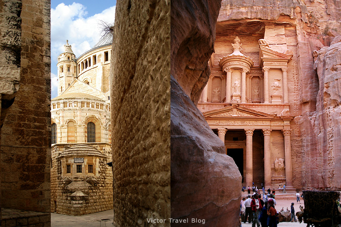 Jerusalem and Petra