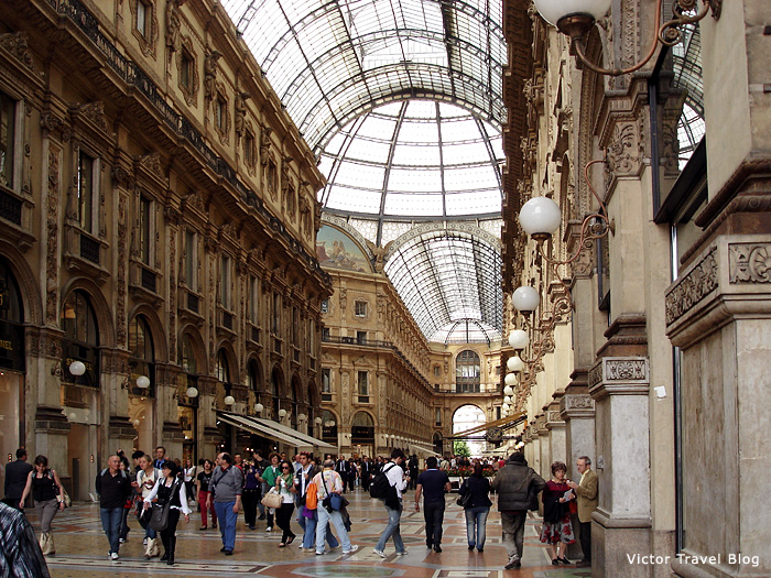 The Passagio. Milan. Italy