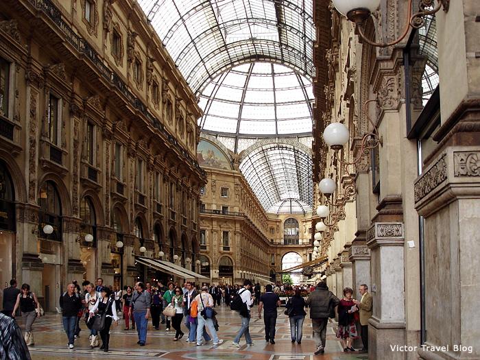 The Passagio. Milan. Italy.