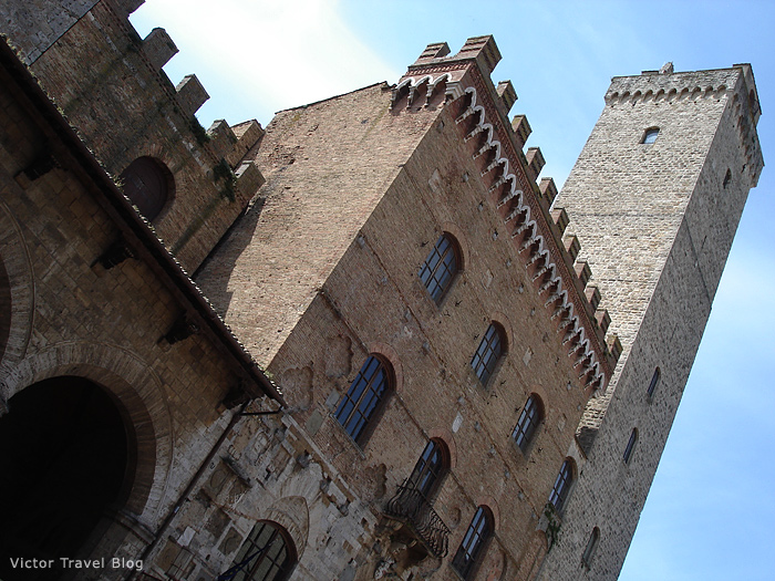 One of the tours of San Gimignano, Italy.
