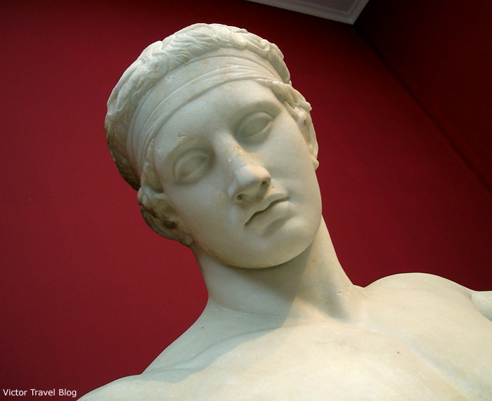 Classical Greek sculpture in the Athens Archaeological Museum, Greece