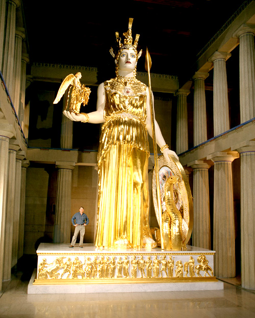 The Goddess Athena by Alan LeQuire, Nashville, Tennessee