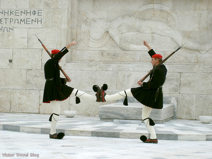 The changing of the guard, Athens, Greece