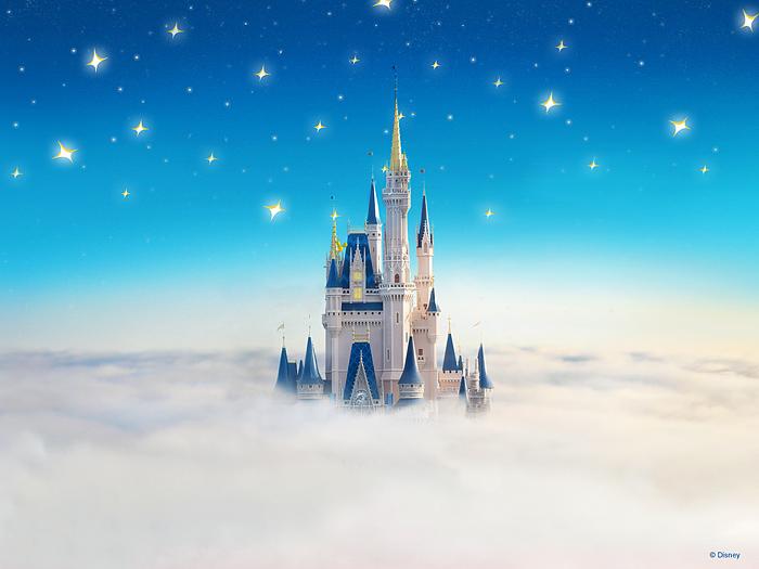 Disney's castle.