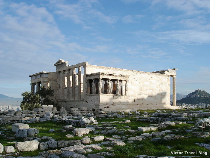 The Erechtheon, Athens, Greece