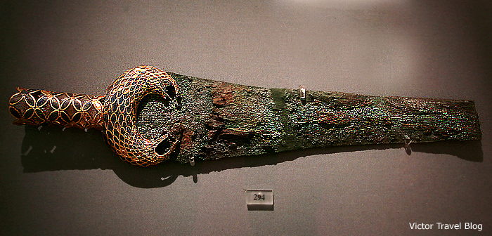 Mycenaen sword. Greece.