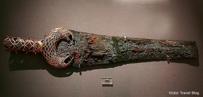 Mycenaen sword. Greece.