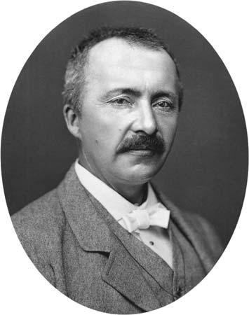 Archaeologist Heinrich Schliemann in 1875.