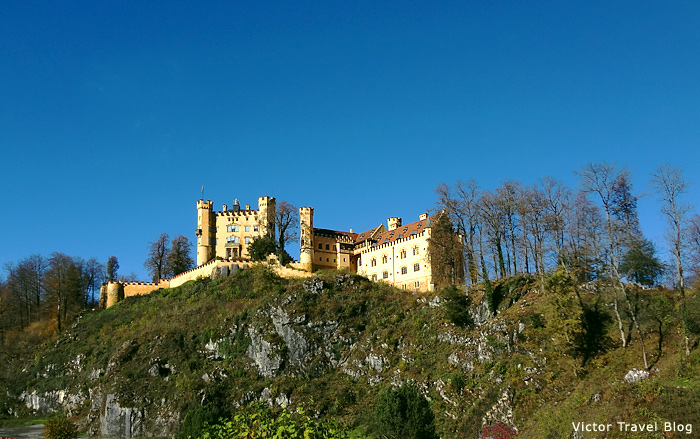 The castle Hohenschwangau, Bavaria.