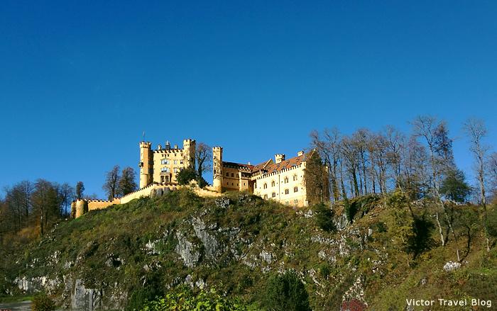 Hohenschwangau Castle, Bavaria.