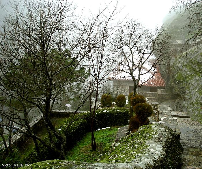 Orthodox monastery in Greece.
