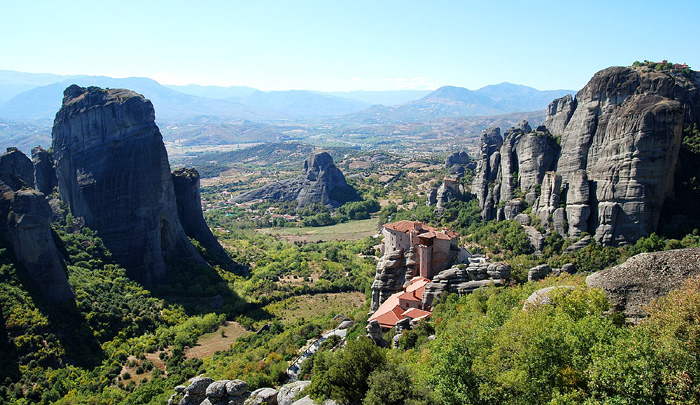 Meteora Monasteries. Greece.