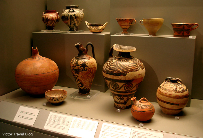 Mycenaen ceramic.