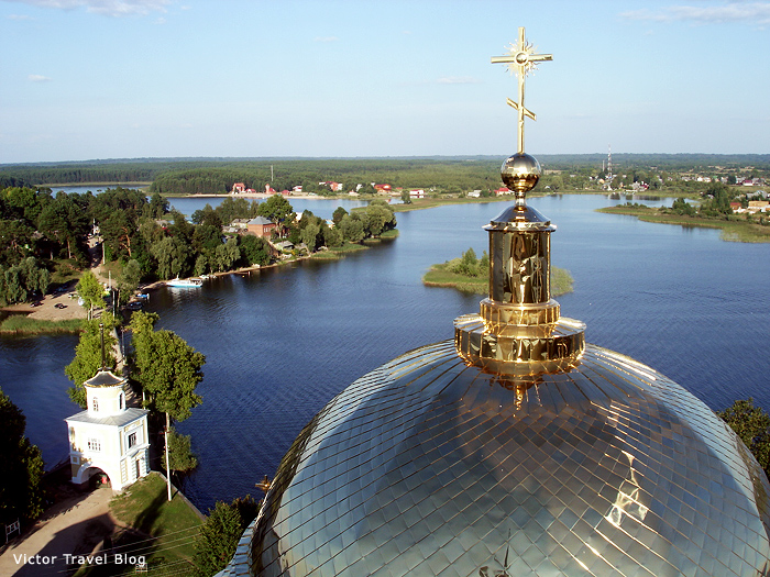 Nilov monastery. Seliger. Russia.