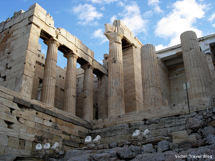 The Parthenon of Athens, Greece