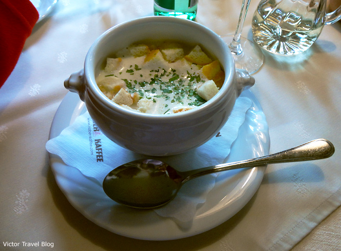 Austrian soup.