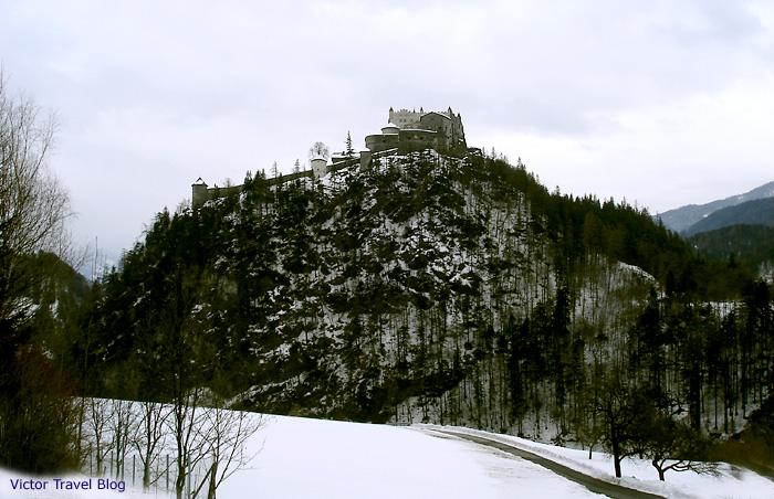 Burg Hohenwerfen. Austria.