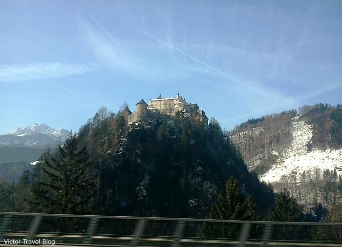 Burg Hohenwerfen, Austira.