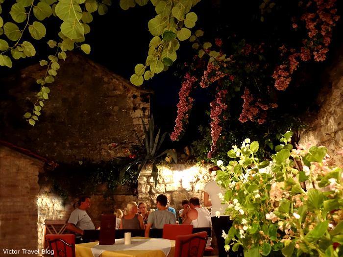 Traditional Croatian restaurant.
