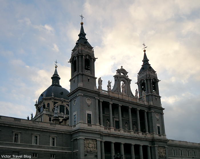 The Cathedral of Madrid. Spain.