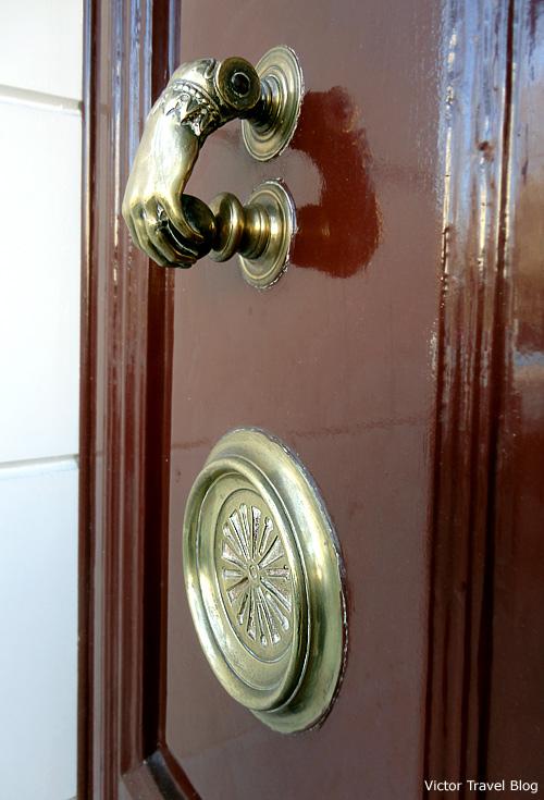 One of the doors of Madrid. Spain.