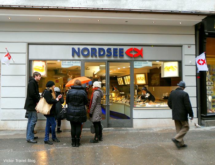 NordSee in Salzburg. Austria.