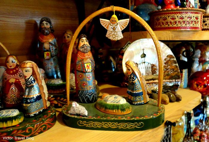 Russian souvenirs.
