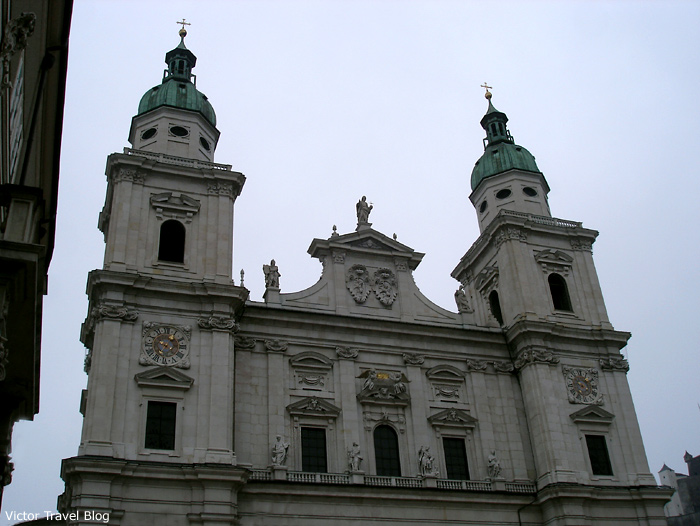 The Cathedral of Salzburg, Austira.