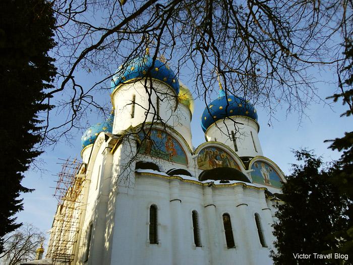 The Trinity Sergius Lavra. Russia.