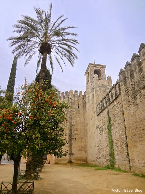 Alcazar of Cordoba, Spain.