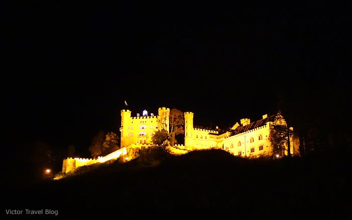 Hohenschwangau Castle in Bavaria.